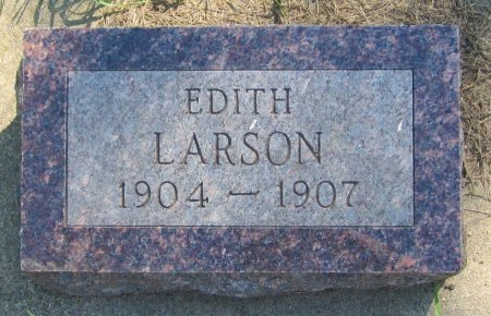 LARSON, EDITH - Day County, South Dakota   EDITH LARSON - South Dakota Gravestone Photos
