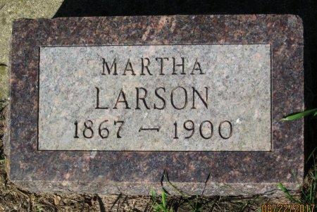 LARSON, MARTHA - Day County, South Dakota | MARTHA LARSON - South Dakota Gravestone Photos