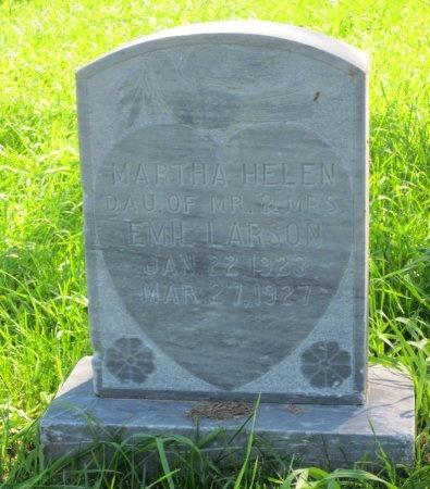 LARSON, MARTHA HELEN - Day County, South Dakota | MARTHA HELEN LARSON - South Dakota Gravestone Photos