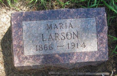 LARSON, MARIA - Day County, South Dakota   MARIA LARSON - South Dakota Gravestone Photos