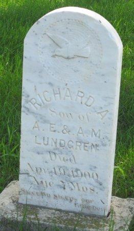 LUNDGREN, RICHARD A. - Day County, South Dakota   RICHARD A. LUNDGREN - South Dakota Gravestone Photos
