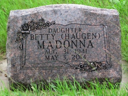 HAUGEN MADONNA, BETTY - Day County, South Dakota | BETTY HAUGEN MADONNA - South Dakota Gravestone Photos