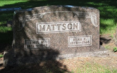 MATTSON, RENA R. - Day County, South Dakota | RENA R. MATTSON - South Dakota Gravestone Photos