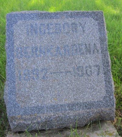 MILBECK, INGERBORY ??DENA - Day County, South Dakota | INGERBORY ??DENA MILBECK - South Dakota Gravestone Photos