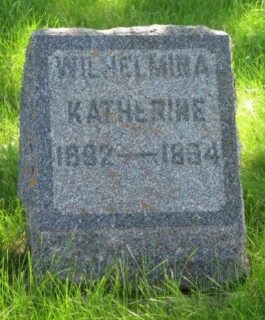 MILBERG, WILHELMINA KATHERINE - Day County, South Dakota | WILHELMINA KATHERINE MILBERG - South Dakota Gravestone Photos