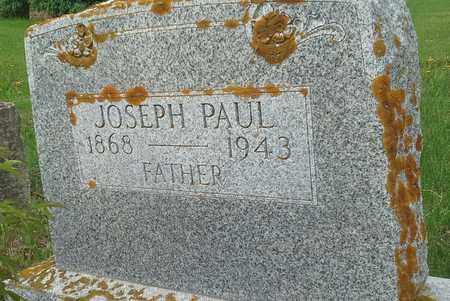 PAUL, JOSEPH - Day County, South Dakota   JOSEPH PAUL - South Dakota Gravestone Photos