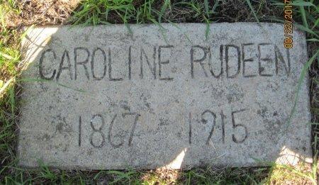 RUDEEN, CAROLINE - Day County, South Dakota | CAROLINE RUDEEN - South Dakota Gravestone Photos