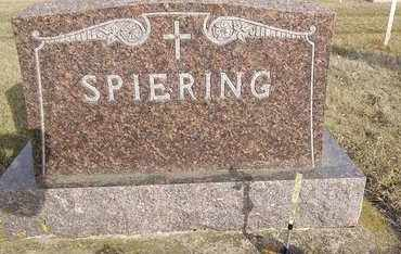 SPIERING, FAMILY MONUMENT - Day County, South Dakota | FAMILY MONUMENT SPIERING - South Dakota Gravestone Photos