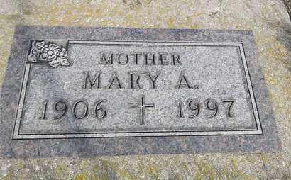 SPIERING, MARY A. - Day County, South Dakota | MARY A. SPIERING - South Dakota Gravestone Photos
