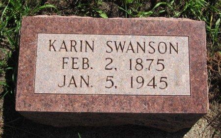 SWANSON, KARIN - Day County, South Dakota   KARIN SWANSON - South Dakota Gravestone Photos