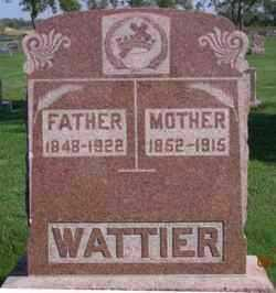 FLESCH WATTIER, GERTRUDE - Day County, South Dakota | GERTRUDE FLESCH WATTIER - South Dakota Gravestone Photos
