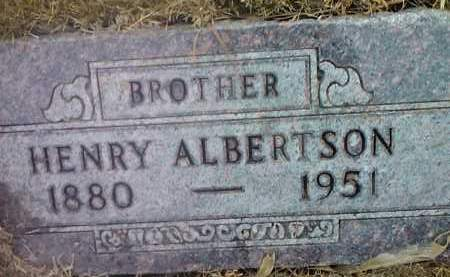 ALBERTSON, HENRY - Deuel County, South Dakota | HENRY ALBERTSON - South Dakota Gravestone Photos
