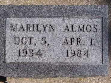 ALMOS, MARILYN - Deuel County, South Dakota   MARILYN ALMOS - South Dakota Gravestone Photos