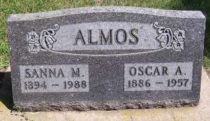 ALMOS, SANNA M. - Deuel County, South Dakota | SANNA M. ALMOS - South Dakota Gravestone Photos