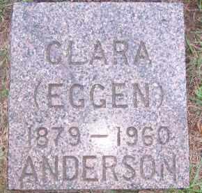 EGGEN ANDERSON, CLARA - Deuel County, South Dakota | CLARA EGGEN ANDERSON - South Dakota Gravestone Photos