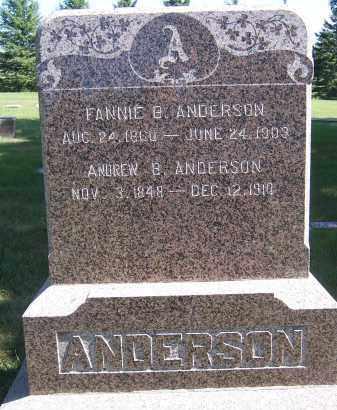 ANDERSON, ANDREW B. - Deuel County, South Dakota   ANDREW B. ANDERSON - South Dakota Gravestone Photos