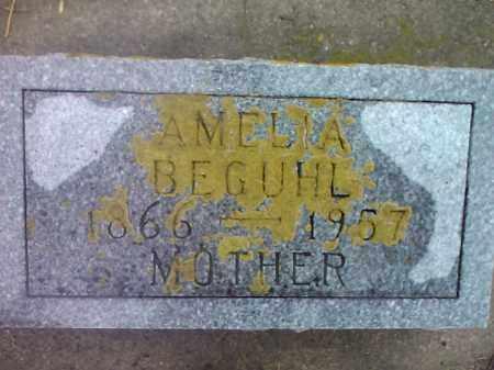 BEGUHL, AMELIA - Deuel County, South Dakota | AMELIA BEGUHL - South Dakota Gravestone Photos