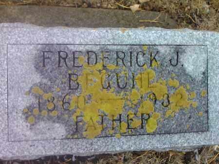 BEGUHL, FREDERICK J. - Deuel County, South Dakota | FREDERICK J. BEGUHL - South Dakota Gravestone Photos