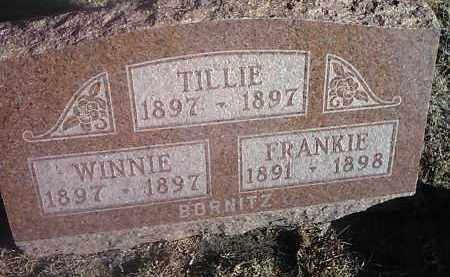 BORNITZ, WINNIE - Deuel County, South Dakota | WINNIE BORNITZ - South Dakota Gravestone Photos