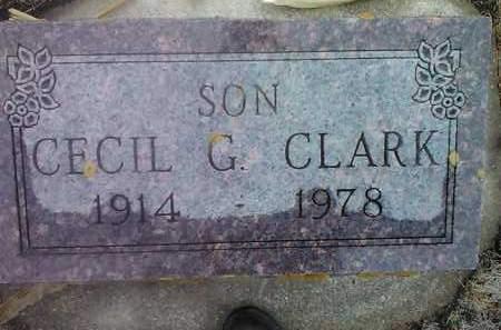 CLARK, CECIL G. - Deuel County, South Dakota | CECIL G. CLARK - South Dakota Gravestone Photos
