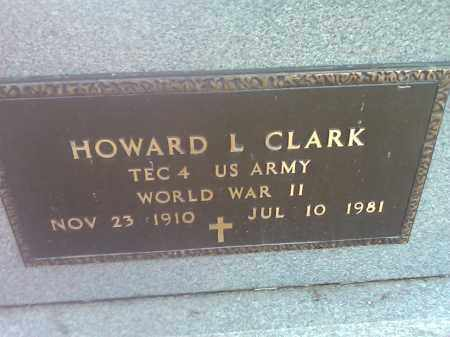 CLARK, HOWARD L. (MILITARY) - Deuel County, South Dakota | HOWARD L. (MILITARY) CLARK - South Dakota Gravestone Photos