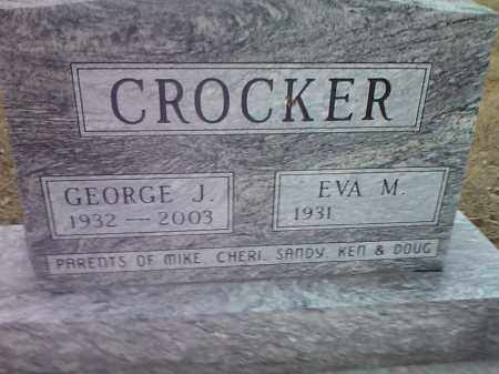 CROCKER, GEORGE J. - Deuel County, South Dakota | GEORGE J. CROCKER - South Dakota Gravestone Photos