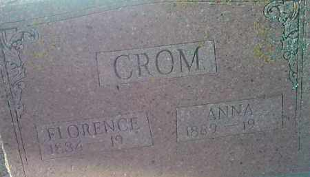 CROM, FLORENCE - Deuel County, South Dakota | FLORENCE CROM - South Dakota Gravestone Photos