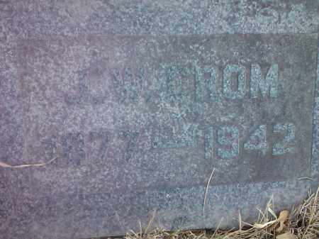 CROM, JOHN - Deuel County, South Dakota | JOHN CROM - South Dakota Gravestone Photos