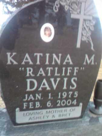 RATLIFF DAVIS, KATINA M. - Deuel County, South Dakota   KATINA M. RATLIFF DAVIS - South Dakota Gravestone Photos