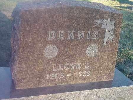 DENNIS, LLOYD L - Deuel County, South Dakota | LLOYD L DENNIS - South Dakota Gravestone Photos
