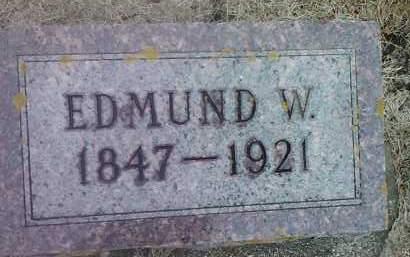 DEVINE, EDMUND W. - Deuel County, South Dakota | EDMUND W. DEVINE - South Dakota Gravestone Photos