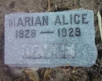 DEVINE, MARIAN ALICE - Deuel County, South Dakota | MARIAN ALICE DEVINE - South Dakota Gravestone Photos