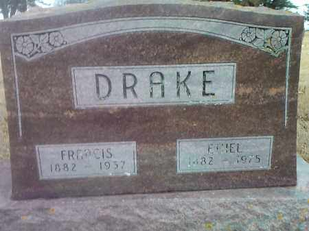 DRAKE, FRANCIS - Deuel County, South Dakota | FRANCIS DRAKE - South Dakota Gravestone Photos