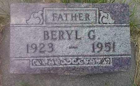 ERICKSON, BERYL G - Deuel County, South Dakota | BERYL G ERICKSON - South Dakota Gravestone Photos