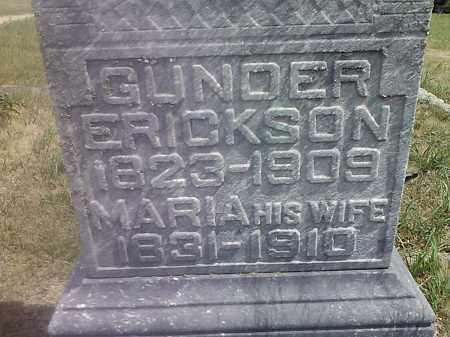 ERICKSON, GUNDER - Deuel County, South Dakota   GUNDER ERICKSON - South Dakota Gravestone Photos