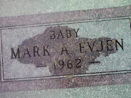 EVJEN, MARK A. - Deuel County, South Dakota | MARK A. EVJEN - South Dakota Gravestone Photos