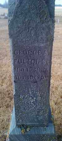 FULTON SR., GEORGE A. - Deuel County, South Dakota | GEORGE A. FULTON SR. - South Dakota Gravestone Photos
