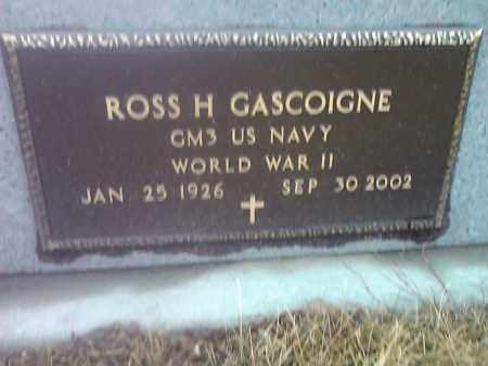GASCOIGNE, ROSS H. (MILITARY) - Deuel County, South Dakota | ROSS H. (MILITARY) GASCOIGNE - South Dakota Gravestone Photos