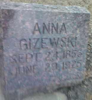 GIZEWSKI, ANNA - Deuel County, South Dakota | ANNA GIZEWSKI - South Dakota Gravestone Photos