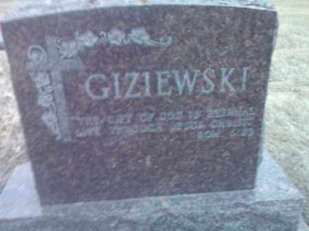 GIZIEWSKI, FAMILY STONE - Deuel County, South Dakota | FAMILY STONE GIZIEWSKI - South Dakota Gravestone Photos