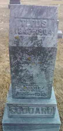 GODDARD, ANNIE - Deuel County, South Dakota   ANNIE GODDARD - South Dakota Gravestone Photos