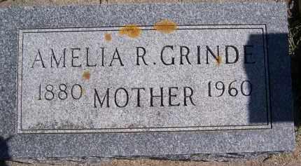 GRINDE, AMELIA R. - Deuel County, South Dakota | AMELIA R. GRINDE - South Dakota Gravestone Photos