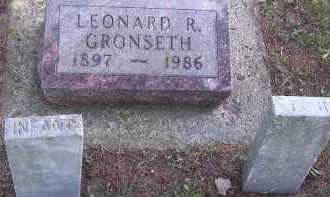 GRONSETH, INFANT - Deuel County, South Dakota | INFANT GRONSETH - South Dakota Gravestone Photos