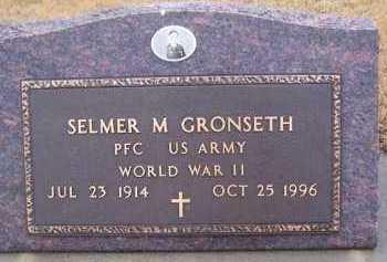 GRONSETH, SELMER M - Deuel County, South Dakota | SELMER M GRONSETH - South Dakota Gravestone Photos
