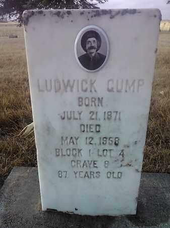 GUMP, LUDWICK - Deuel County, South Dakota | LUDWICK GUMP - South Dakota Gravestone Photos