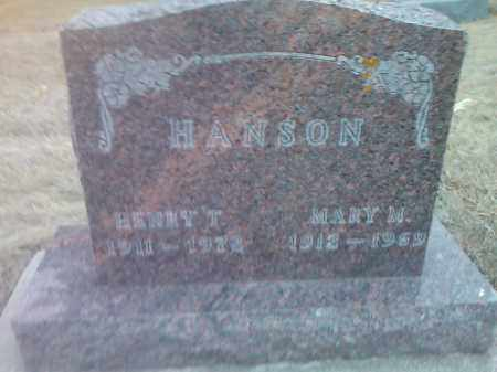 HANSON, MARY M. - Deuel County, South Dakota | MARY M. HANSON - South Dakota Gravestone Photos