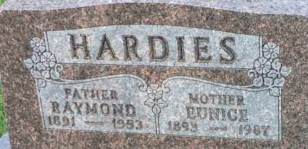 HARDIES, EUNICE - Deuel County, South Dakota | EUNICE HARDIES - South Dakota Gravestone Photos
