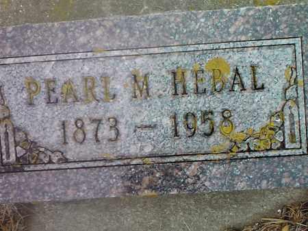 HEBAL, PEAL M. - Deuel County, South Dakota   PEAL M. HEBAL - South Dakota Gravestone Photos
