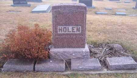HOLEN, . - Deuel County, South Dakota   . HOLEN - South Dakota Gravestone Photos
