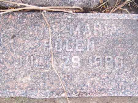 HOLEN, ANNE MARIA - Deuel County, South Dakota   ANNE MARIA HOLEN - South Dakota Gravestone Photos